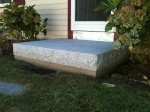 Granite landing.