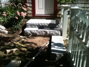 Capeside steps