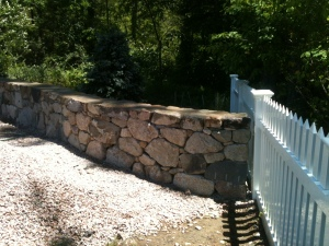 Stone wall medfield.